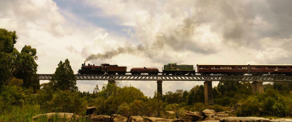 Southern Downs Steam Railway to Wallangarra, photo Ben Francis
